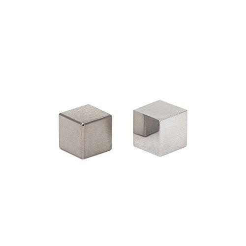 Tungsten & Aluminum Cube Set - 0.5'