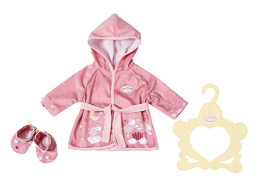 Zapf Creation 701997 Baby Annabell SweetDreams Bademantel43cm, rosa