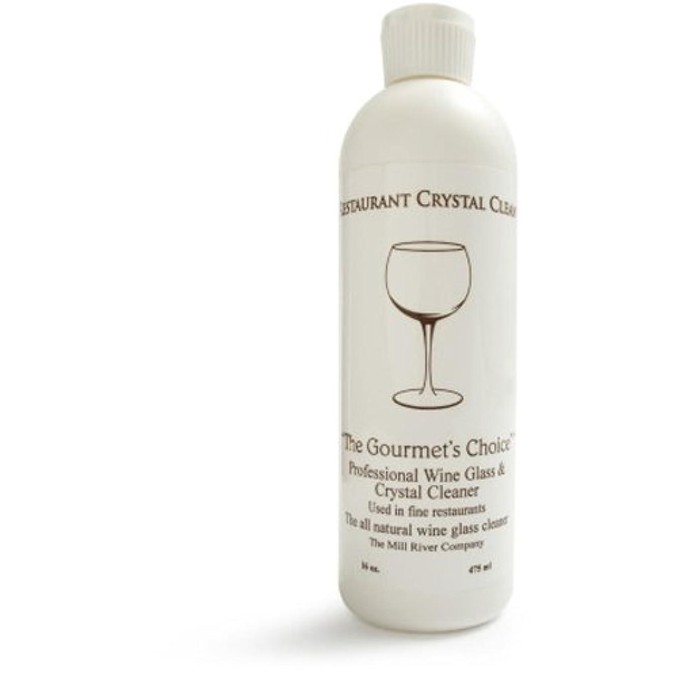 任命どれミルレストランクリスタルクリーン: Professionalワインガラスクリーナーとクリスタルクリーニング液体- 16オンス
