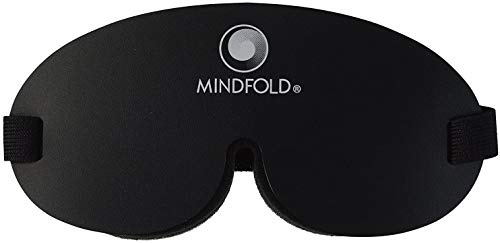 Mindfold Relaxation and Blackout Sleeping Mask, Total Darkness with Your Eyes Open.