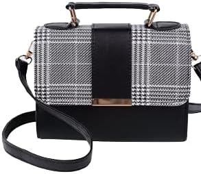 Fashion Crossbody Handbag Purse Tote Hobo Bag (Black)