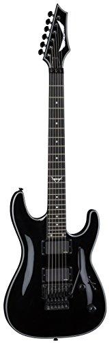 Dean Guitars 6 String Dean Custom 450 Floyd w/EMG Solid Body Electric Guitar - Classic Black (C450FCBK)