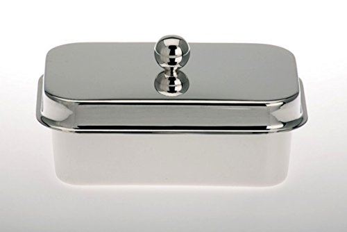 Etc, Magarinedose con tapa para Rama, Becel, Lätta. - Chapado en plata - hecha a mano en Alemania