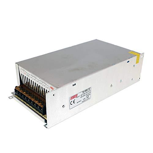 HAILI AC 110 / 220V a DC12V 40A Convertidor de Fuente de alimentación conmutada para Pantalla LED, televisión de transmisión, Redes de computadoras, Luces LED, Equipo para Autos