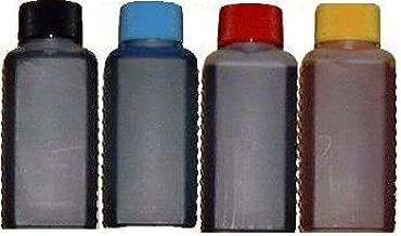 Juego de 400 ml recarga (100ml Negro, 100 ml cyan, 100 ml magenta ...