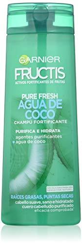Garnier Fructis shampooing Pure Fresh eau de coco – 360 ML