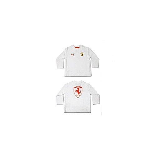 Ferrari baby-T-shirt, wit, maat 30 maanden