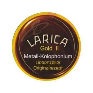 Liebenzeller Larica Gold II, Violin/Viola Rosin, Soft