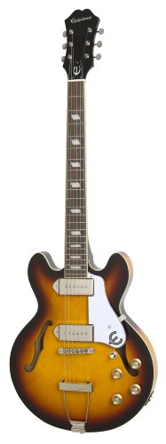 Epiphone Casino Coupe - Guitarra eléctrica, color vintage sunburst