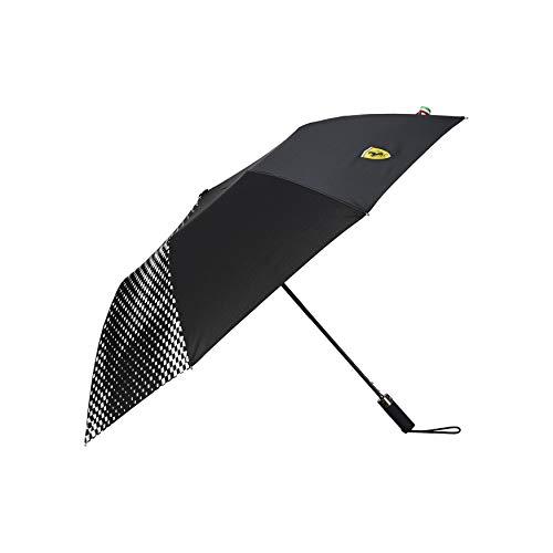 Ferrari Scuderia F1 Compact Umbrella Negro/Rojo (negro)