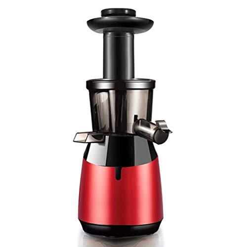 Fruta y Vegetal Cold Press Extractor de Jugo Slow Juicer, Sorbete y Helado de Frutas Extractor de Masticación Lenta, Sin BPA, 240W 2 Salidas for el Zumo (Color : B)