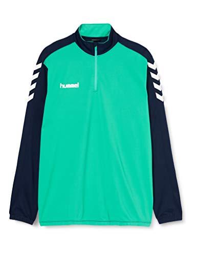 Hummel Herren Core 1/2 Zip Sweatshirt, Marine/Atlantis, XL EU