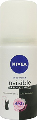 24 x Nivea Mini-Größe Damen Deo Spray Invisible Black & White 35 ml
