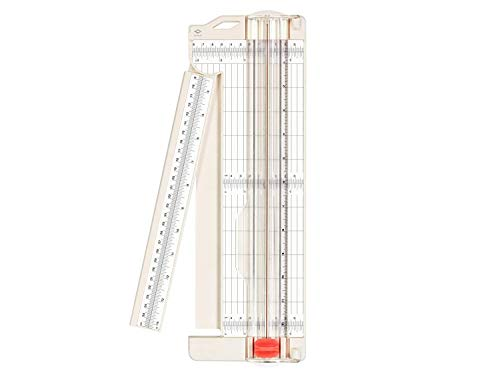 """Bira Craft Paper Trimmer with Swing-Out Arm, 12"""" x 3"""" Base, for Coupons, Craft Paper and Photo"""