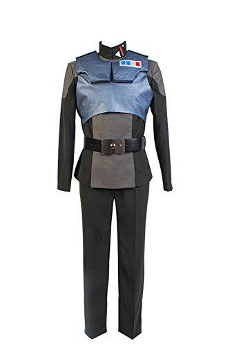 Bilicos Estrella Rebels Agent Kallus Uniforme Outfit Traje de Cosplay Disfraz Gris...