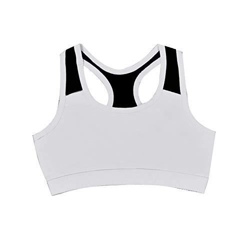 HHORD Soutien-Gorge Brassière De Sport Femme sans Armature Dos Nageur - Yoga Gym Fitness Musculation,B,M