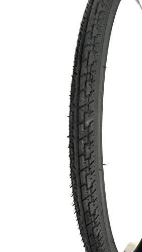 EBA28NCD 2 COPERTONI Nero + 2 CAMERE d'Aria per Bicicletta Bici City Bike Trekking 700 X 35 28 1 5/8 3/8 (37-622)