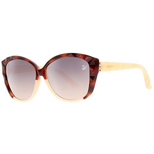 Swarovski Sunglasses Sk0058 56Z-60-13-140 Gafas de sol, Marrón (Braun), 60 para Mujer