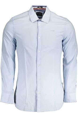 Guess Jeans M93H20WBRC0 Hemd mit Langen Ärmeln Harren XL
