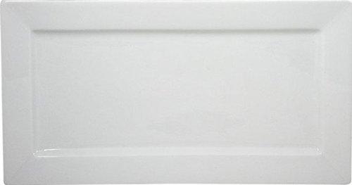 COSY TRENDY - HP2444 - ASSIETTE RECTANGULAIRE BLANC 24X12CM