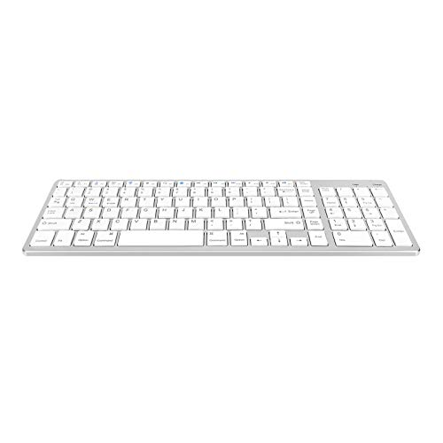 Non-brand Universal Slim Portable Wireless Bluetooth 3.0 Keyboard with Built in Rechargeable Battery - color