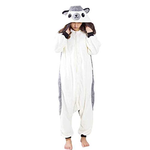JIAWEIDAMAI Erizo Animal Pijamas Onesies Unisex Sleepsuit