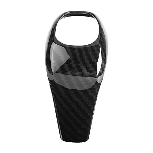 Dingln Carbon-Faser-Art-Auto-Gangschaltung-Kopf-Abdeckung Trim for B-M-W X1 F48 2 Serie F46 2015-2018