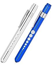 SCSpecial Set van 2 Medische Penlight Ehbo LED Zaklamp Pen Light Torch voor Arts Verpleegkundige Diagnose