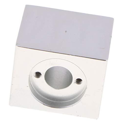 F Fityle Schraube Mutter Gehäuse Halterung Aus Gummi für T8 Trapezgewinde Mutter Gehäuse 3D Drucker Teile - Weiß