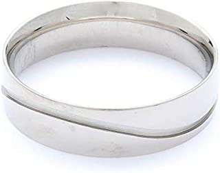 Breuning Palladium 500 Matte & Shiny Finish Wedding Ring [BR2628]
