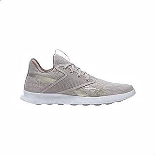 Reebok Evazure DMX Lite 3.0 Side-Stripe Lace-Up Walking Sneakers for Women - Sand Stone Grey, 40 EU