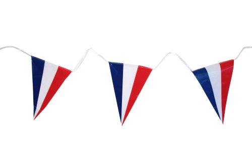 Generique - Frankreich-Girlande Flaggen 5m
