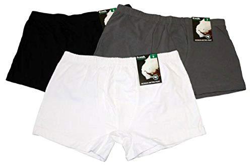 Fields, Boxer-pantshorts, 1 pièce, Noir,Blanc ou Gris, 5-9 - Blanc, 5