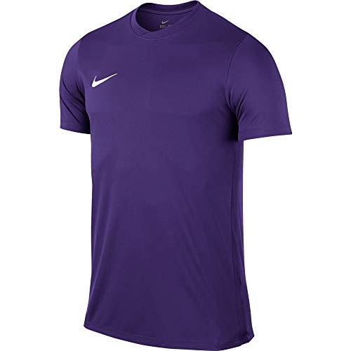 Nike Park VI Camiseta de Manga Corta para hombre, Morado (Court Purple/White), L