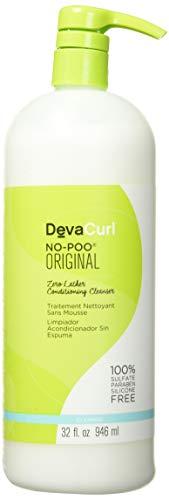 DevaCurl Devacurl No Poo Original Cleanser Bouchon d'oreille, 7 cm, Noir (Black)