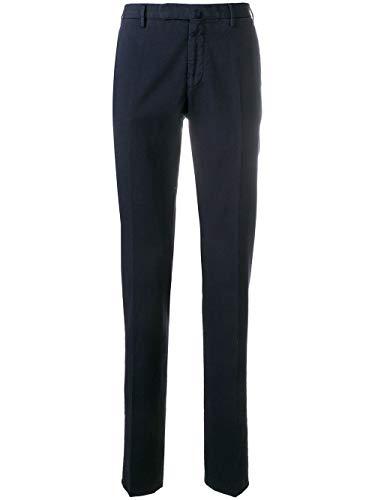 Incotex Pantaloni Uomo 1Agw3090270822 Cotone Blu