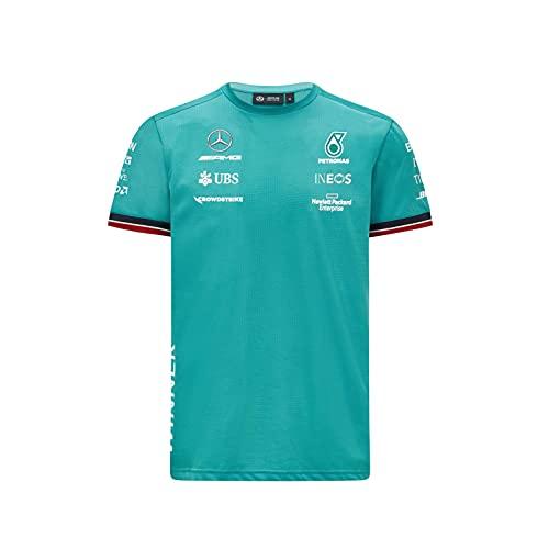 Mercedes Benz AMG Petronas F1 Herren T-Shirt 2021 Race Winner Team, Grün - Grün - Mittel