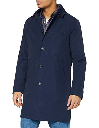 United Colors of Benetton 2F9P5K238 Cappotto, Blu 016, 48 Uomo