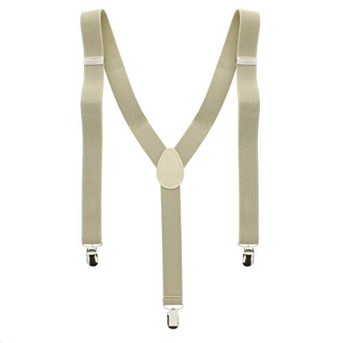 ZAC Alter Ego Bretelles ajustables unisexes Uni Largeur 25 mm - beige -