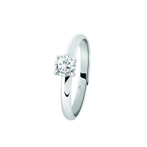 Morellato Anello da donna, Collezione Love Rings, in acciaio e cristalli - SNA42012