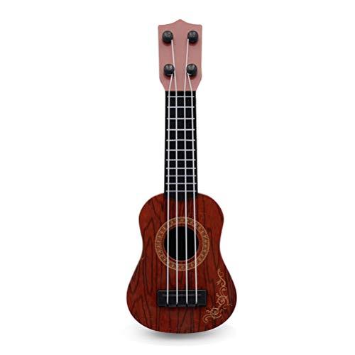 buycheapDG(JP) ウクレレ 子供 10インチ ミニギター 初心者 子供向け おもちゃ 楽器玩具 知育玩具 かわいい 子供の日 誕生日 プレゼント ギフト