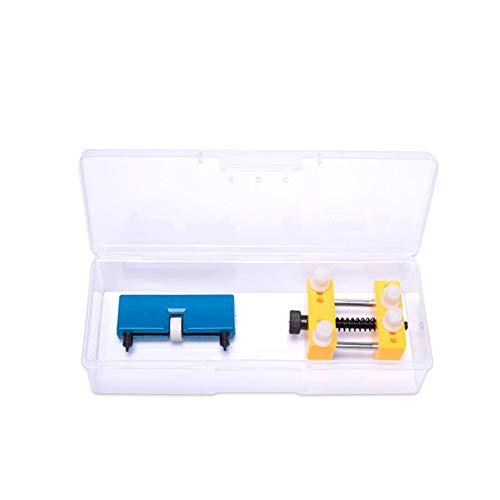 meimeijia Diseño Herramientas del Reloj Portable Ajustable reparación Abierta de Nuevo Caso removedor mire los Kits de Herramientas for un abridor de Tapa de la batería Cambio Robusto (Color : Set 5)