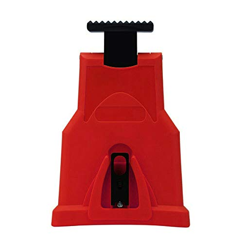 LHBBHSH Chainsaw Teeth Sharpener Ego Bar Mount Chain Grinder Sharpening Tool (Color : Red)