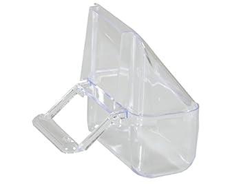 FOP Mangeoire en Plastique pour Canari Transparent 2 Pièces
