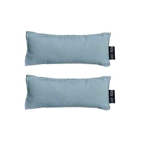 TOYANDONA - 2 almohadillas ergonómicas para ratón y teclado, para la muñeca, color azul claro, 5131702SMDKEN, azul claro, 13 * 5 cm