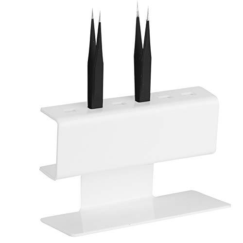 Support de Pince à Épiler Extension de Cils Pince à Épiler en Plastique Support D'étagère Rack de Stockage Outils de Maquillage Accessoires