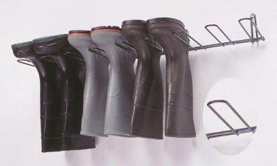 Horizon 1044-PVC Steel Boot and Glove Rack, 35-1/4' Width x 4-1/2' Height x 10-1/2' Depth, Dark Green, For 4 Pairs