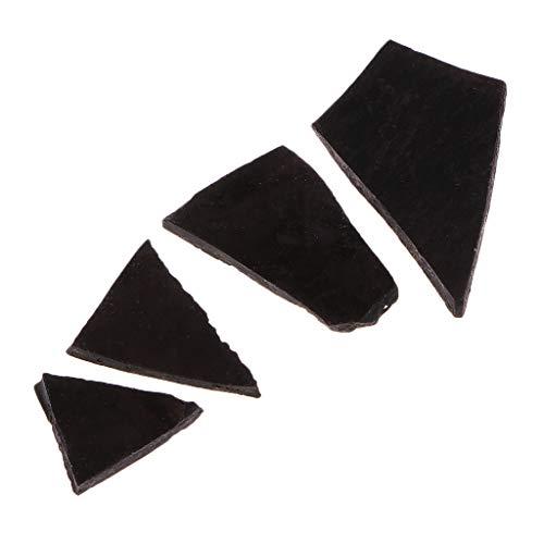 kowaku 5g Natuurlijke Kaarsvet Kleur Kaarsverf Set, Wasverven voor Kaarsen, Verf voor Het Maken van Kaarsen - zwart