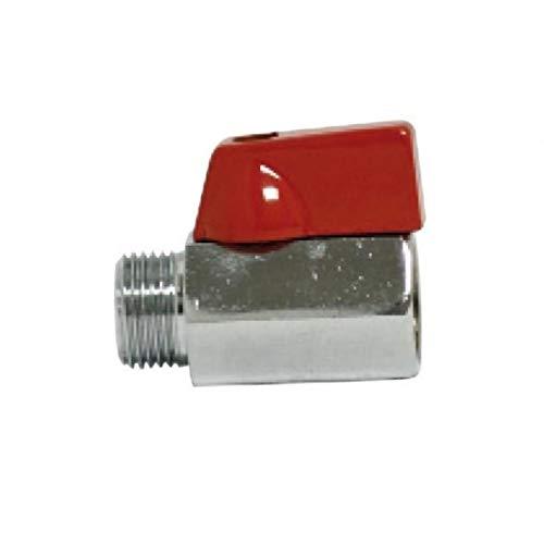 Universal - Mini valvula de esfera 3/8 h 3/8 m c/maneta