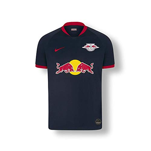 RB Leipzig Away Trikot 19/20, Blau Youth Large T Shirt, RasenBallsport Leipzig Sponsored by Red Bull Original Bekleidung & Merchandise